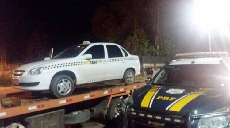 Policiais rodoviários foram acionados e conseguiram recuperar o veículo - Foto: Divulgação | PRF