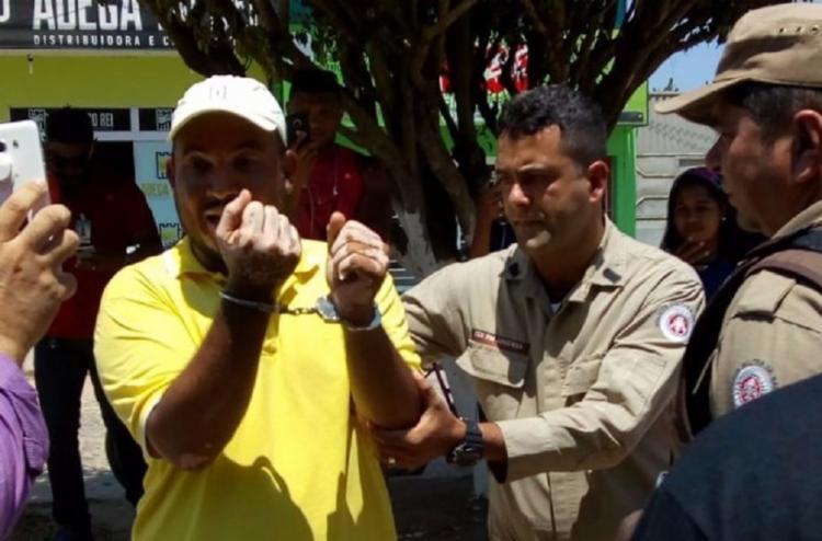 Tyago Ramos teria desrespeitado o volume de som durante uma passeata - Foto: Reprodução