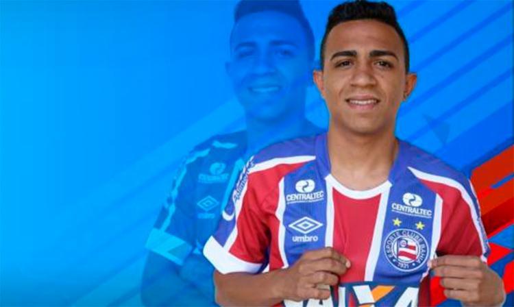 Luiz Henrique fica no Tricolor por empréstimo até o fim desta temporada - Foto: Reprodução | EC Bahia