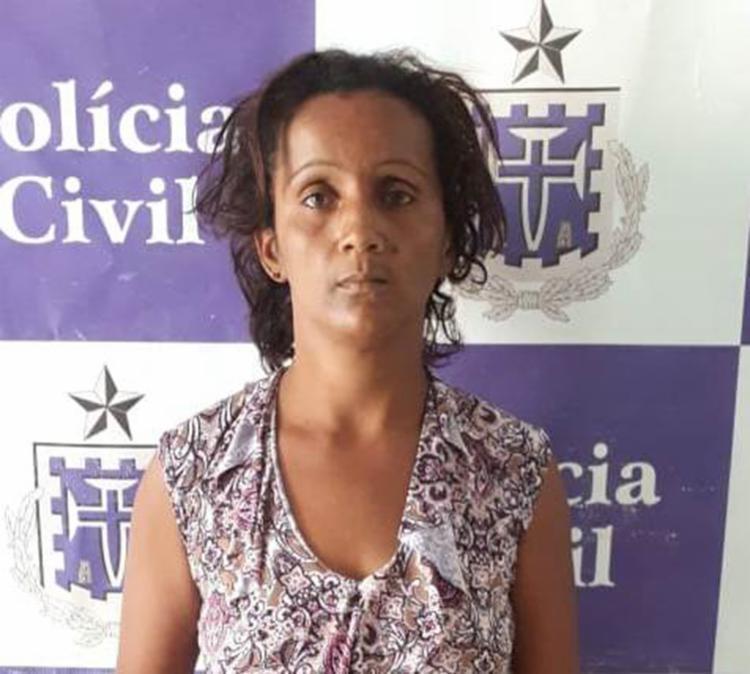 Segundo a polícia, Edna Cortes é prima de uma das vítimas - Foto: Divulgação   SSP