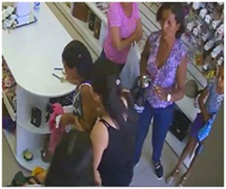 Edna foi vista fazendo compras e pagamentos dias após o crime