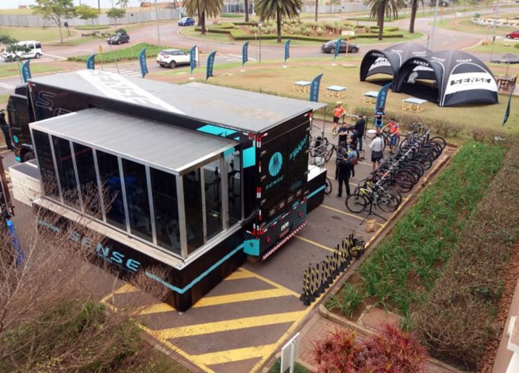 26 bicicletas estarão disponíveis para que os amantes das duas rodas - Foto: Divulgação