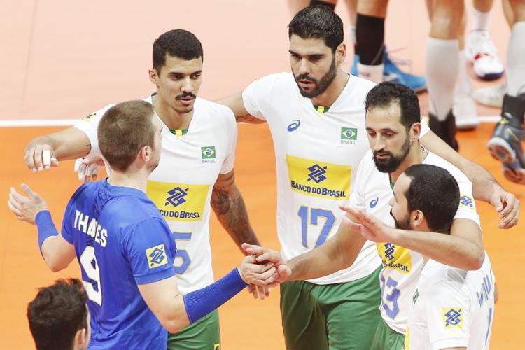 Os brasileiros podem ter pela frente as seleções dos Estados Unidos, Itália, Polônia, Rússia e Sérvia. - Foto: Reprodução | CBV