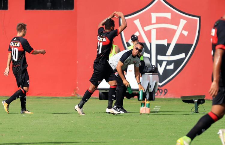 O Leão entrará em campo na próxima terça, 18, contra o América-MG, em Minas Gerais - Foto: Maurícia da Matta | EC Vitória
