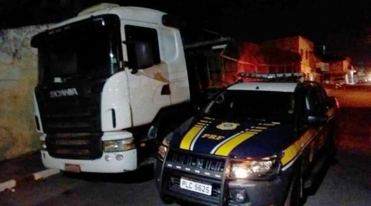 Veículo foi apreendido durante fiscalização da PRF na tarde de quina-feira, 20 - Foto: Divulgação   PRF