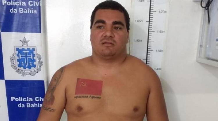 Deviano Fernandes Lima cometeu crimes no Rio de Janeiro - Foto: Divulgação | SSP BA
