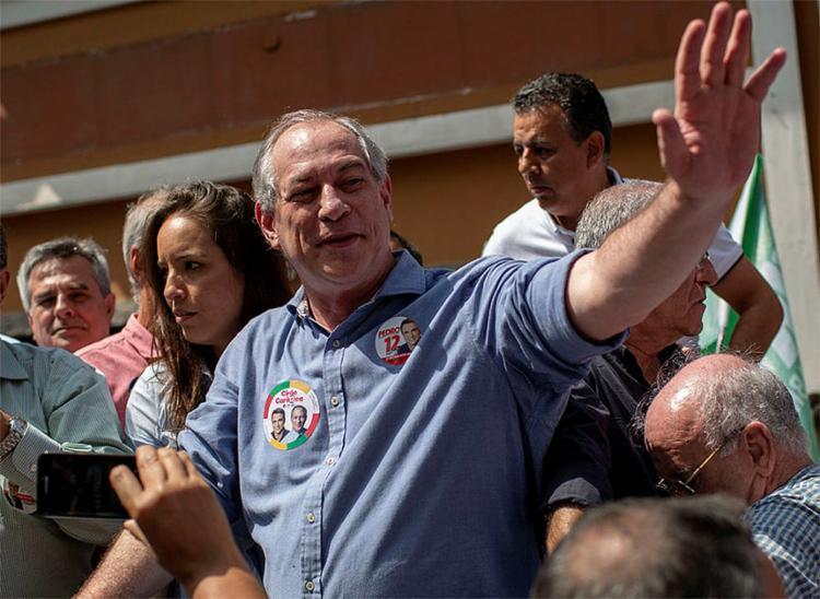 Ciro Gomes, candidato à Presidência da República pelo PDT - Foto: Mauro Pimentel | AFP