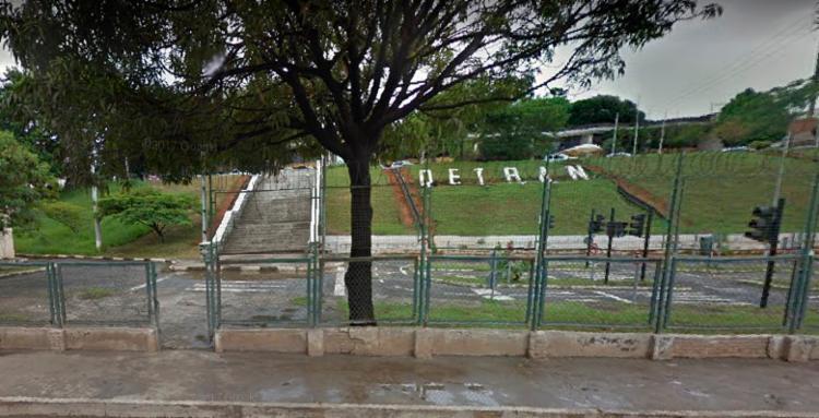 Acidente ocorreu por volta das 14h40 nas proximidades do Detran - Foto: Reprodução | Google Maps