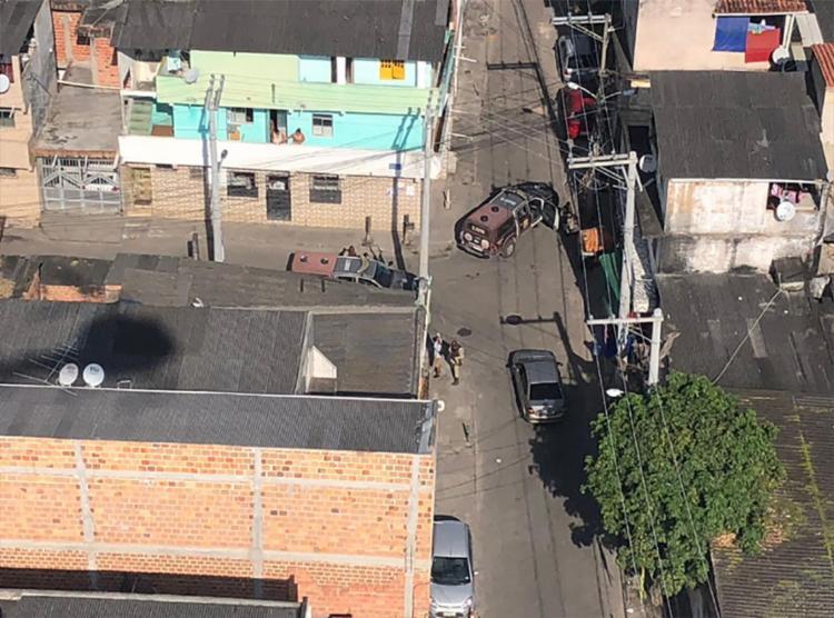 Material foi encontrado em uma casa no bairro de Massaranduba - Foto: Divulgação | SSP-BA