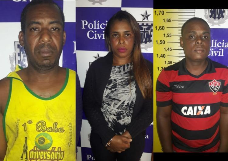 Eles roubavam gasolina, diesel e álcool na BR-324 - Foto: Divulgação | SSP BA