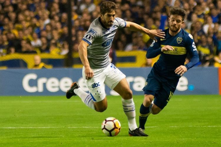 Cruzeiro e Boca Juniors jogaram na noite desta quarta, 19, na Bombonera, em Buenos Aires - Foto: Bruno Haddad | Cruzeiro