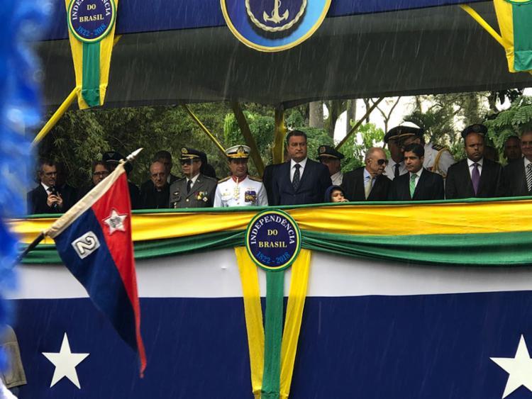 Rui Costa e ACM Neto repudiaram o atentado ao presidenciável Jair Bolsonaro