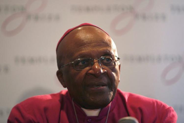 Ganhador do Nobel por combater o apartheid, Tutu luta contra um câncer na próstata há mais de dez anos - Foto: Mark Wessels | Reuters