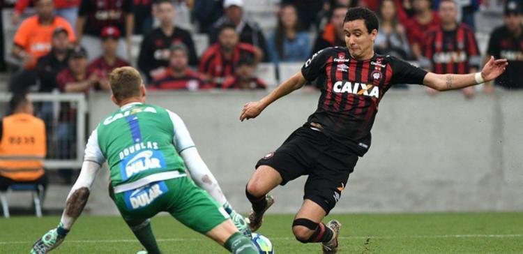 Atlético-PR e Bahia se enfrentaram pela 22ª rodada do Brasileirão - Foto: Reprodução