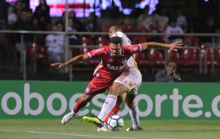 Com poucas chances de gol, Bahia perde para o São Paulo - Foto: Rubens Chiri | SPFC