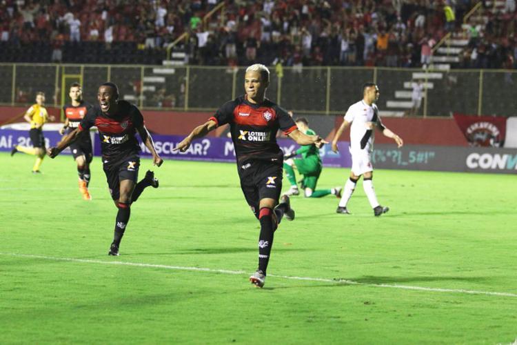Erick foi o autor do gol do Rubro-Negro diante do Vasco - Foto: Tiago Caldas | Ag. A TARDE