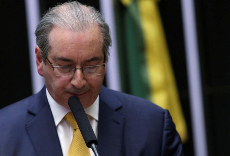 No documento, Cunha volta a dizer que passa um calvário - Foto: Adriano Machado | Reuters