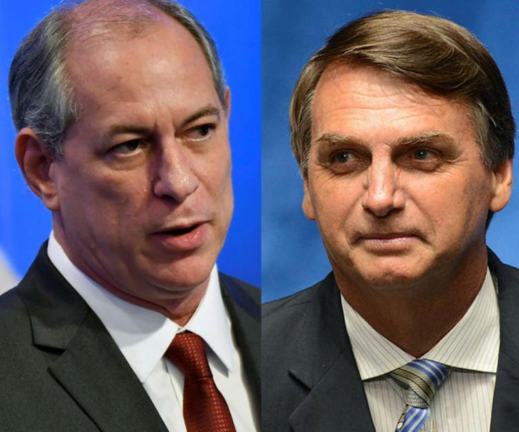 Ciro criticou as pautas abordadas por Bolsonaro - Foto: Agência Brasil e AFP