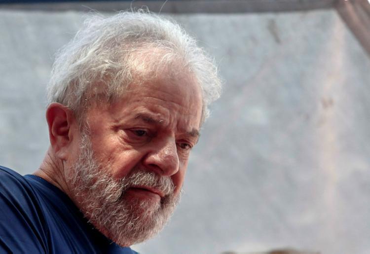 PT ainda tenta reverter a decisão do Tribunal Superior Eleitoral (TSE), que barrou a candidatura de Lula - Foto: Miguel Schincariol   AFP
