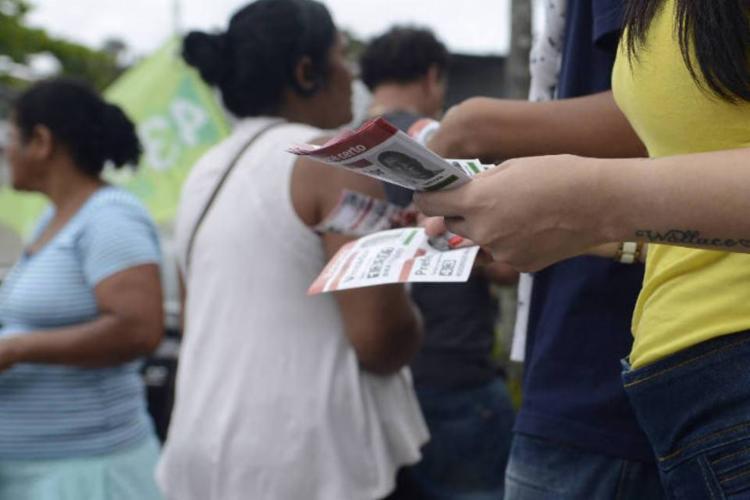 Boca de urna e pode resultar em prisão de seis meses a um ano e multa (Foto: Tânia Rego | Agência Brasil)