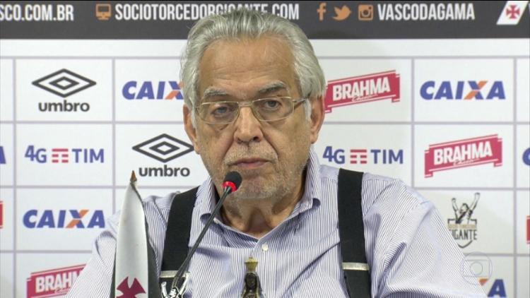 Se os votos fossem considerados válidos, Eurico Miranda seria reconduzido ao cargo - Foto: Reprodução | TV Globo