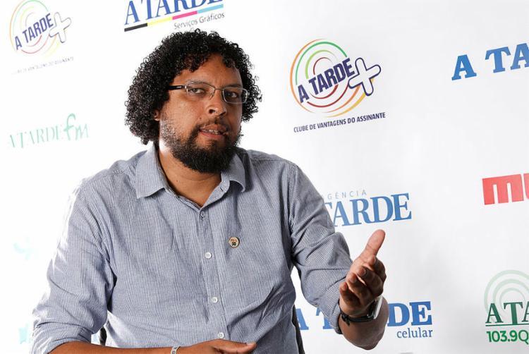 Fábio Nogueira, candidato ao Senado pelo Psol - Foto: Margarida Neide l Ag. A TARDE
