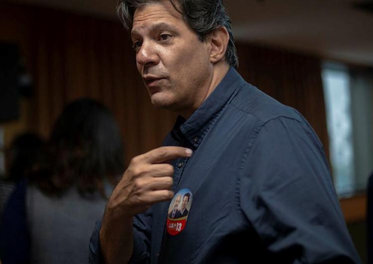 O ex-prefeito de São Paulo deve ser oficializado como candidato na cabeça de chapa - Foto: Mauro Pimentel   AFP