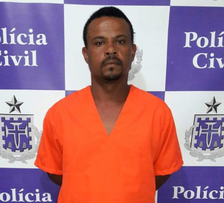 Oscar Rodrigues Novais foi preso em flagrante no município de Eunápolis - Foto: Tony Silva | Ascom-PC