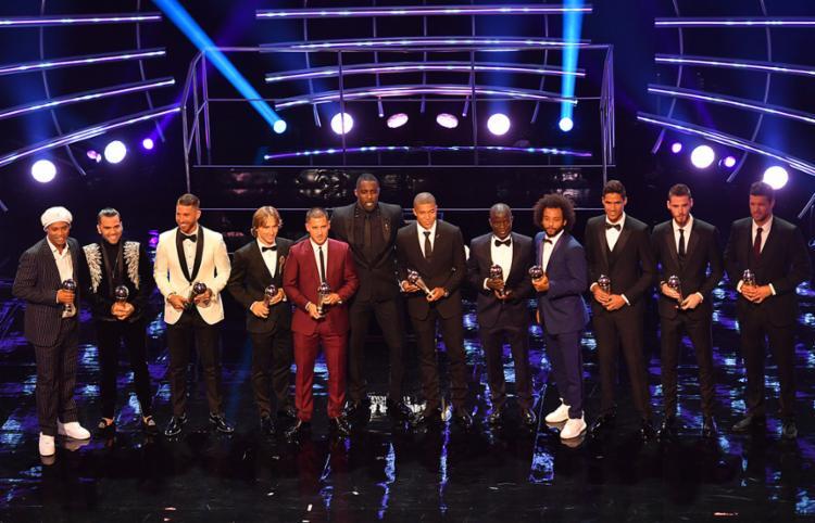 O time espanhol dominou esta equipe com um total de cinco dos 11 atletas eleitos - Foto: Ben Stansall | AFP