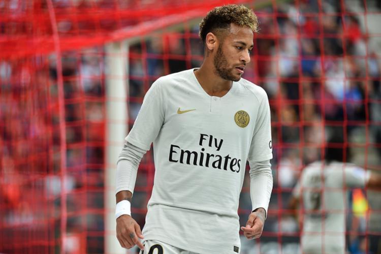 O atacante brasileiro já havia ficado de fora da lista de 10 finalistas ao prêmio de melhor do mundo - Foto: Jean-Francois Monier | AFP