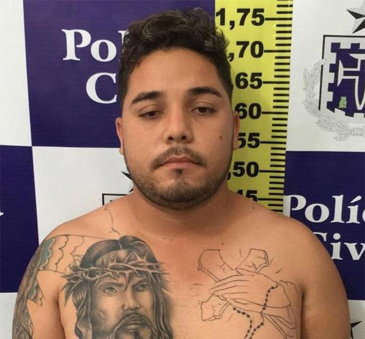Investigadores da DRFR prenderam Gildimar Andrade em sua residência - Foto: Divulgação l Polícia Civil