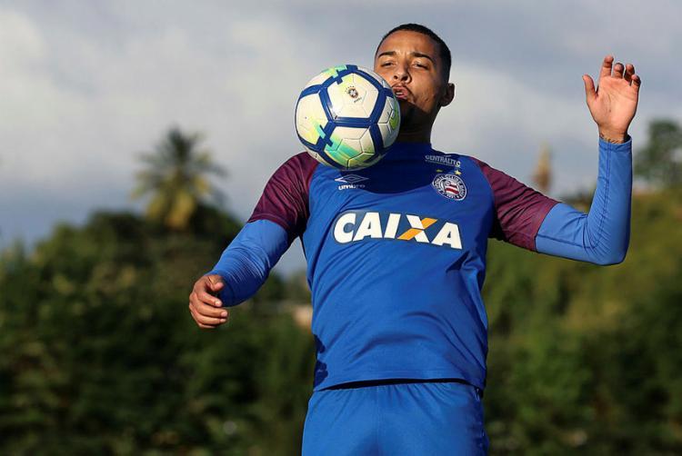 Volante não leva cartão há seis partidas - Foto: Felipe Oliveira l EC Bahia