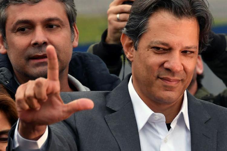 Candidatos miram em Haddad após divulgação de delação de ex-ministro - Foto: Nelson Almeida | AFP
