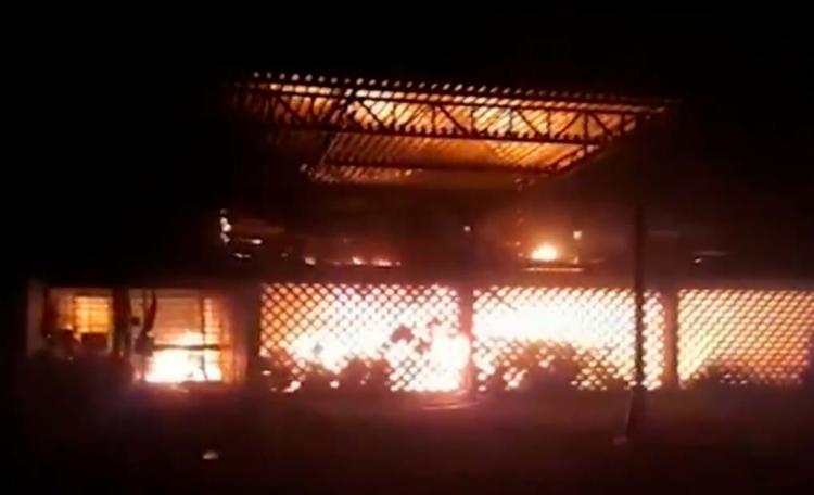Não há informações sobre as causas do incêndio - Foto: Reprodução | TV Bahia