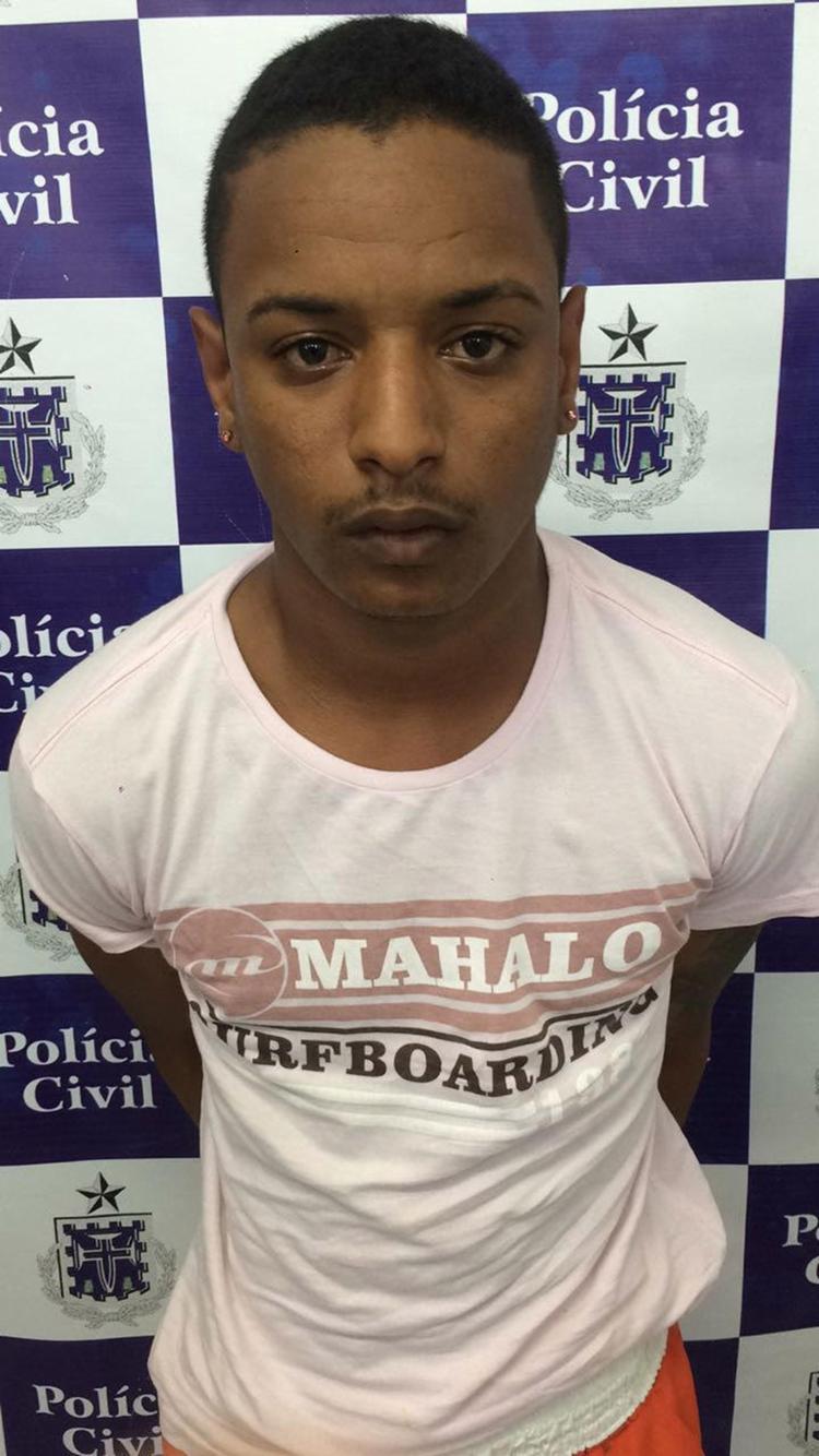Iure de São Caetano, como é conhecido, é acusado de tentativa de homicídio, porte ilegal de arma e roubo - Foto: Divulgação l Polícia Civil
