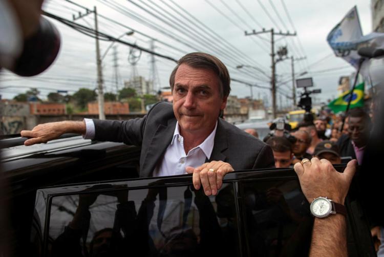 Caso seja aceita a denúncia da PGR, Bolsonaro pode se tornar réu pela terceira vez no STF - Foto: Mauro Pimentel   AFP