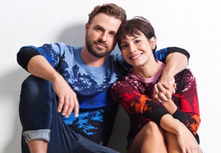 Juliana Knust e Cássio Reis interpretam um casal que está em processo de divórcio - Foto: Divulgação