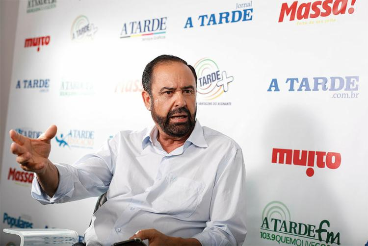 Kleber Rebouças Rangel (Comandante Rangel), candidato a senador da República - Foto: Raul Spinassé l Ag. A TARDE