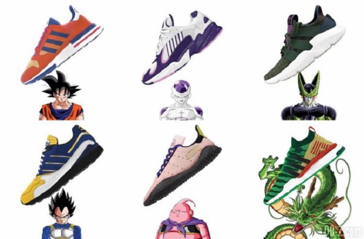Adidas lança linha de sapatos inspirada no desenho Dragon Dragon Dragon Ball Z ee7d11