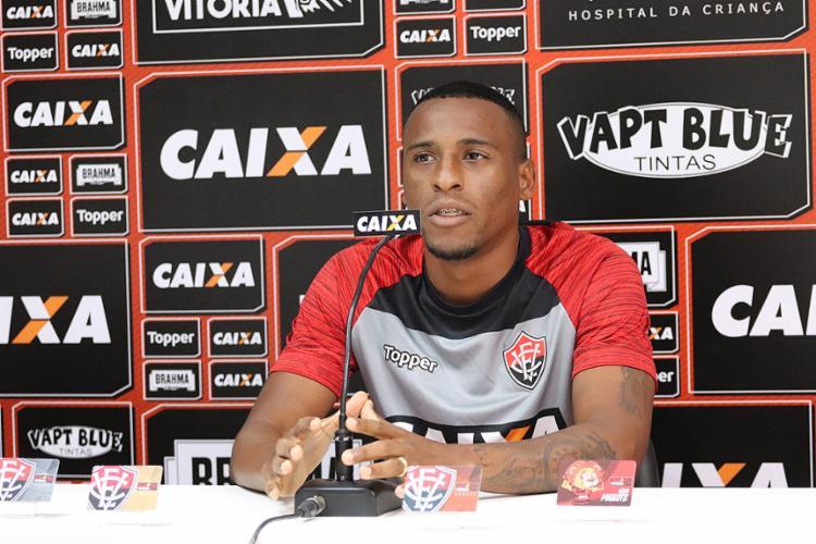 Jeferson será titular mais uma vez no sábado, contra o Ceará - Foto: Maurícia da Matta l EC Vitória