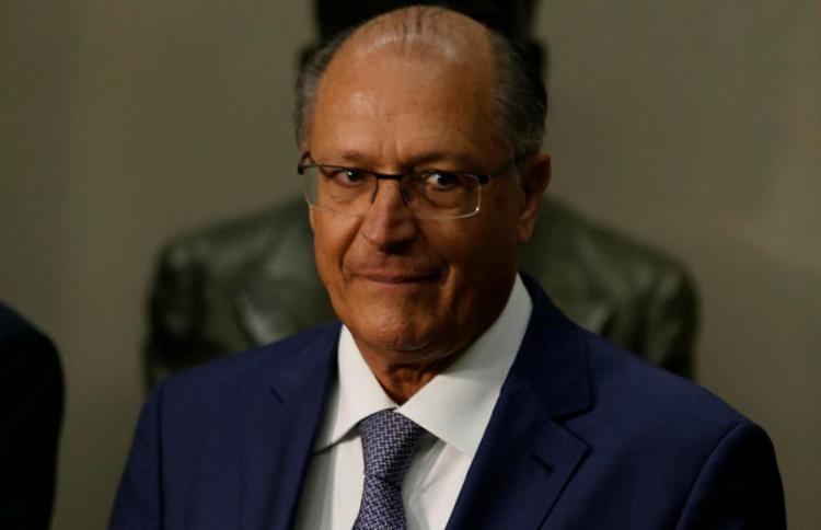 Alckmin, apesar do amplo apoio de partidos, emperrou - Foto: Joá Souza | Ag. A TARDE