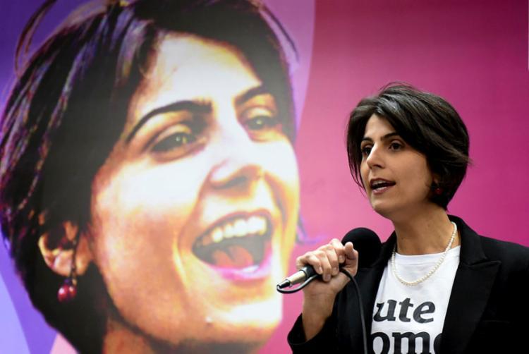 A defesa da vice de Haddad pediu ao TSE reforço na segurança para a candidata - Foto: AFP