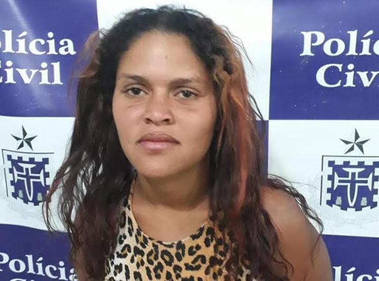 Maria Daniela cumpria pena em regime semiaberto e foi autuada em flagrante - Foto: Divulgação | Polícia Civil