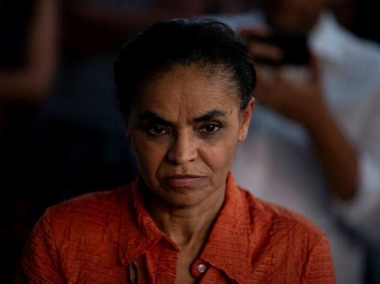 Sobre a disputa eleitoral, a candidata da Rede nas eleições 2018 voltou a citar o clima ruim e se colocou como a alternativa a isso - Foto: Mauro Pimentel | AFP