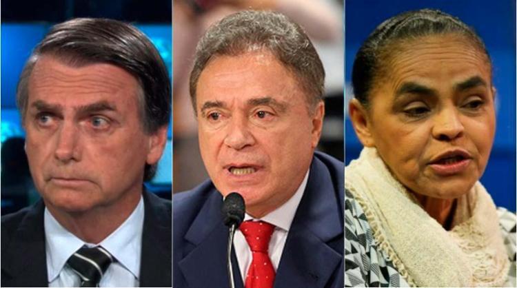 Jair Bolsonaro, Alvaro Dias e Marina Silva são os defensores desta medida - Foto: Montagem: Ag. A TARDE