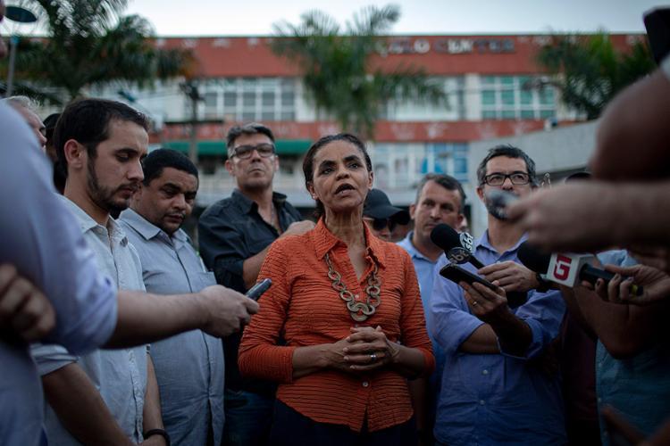Candidata da Rede repudiou ataque sofrido presidenciável - Foto: Mauro Pimentel l AFP