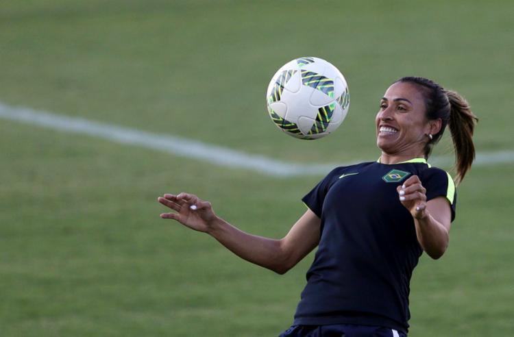 Marta já foi indicada para a categoria 14 vezes desde que foi revelada pelo vasco em 2000 - Foto: Reuters | Bruno Kelly