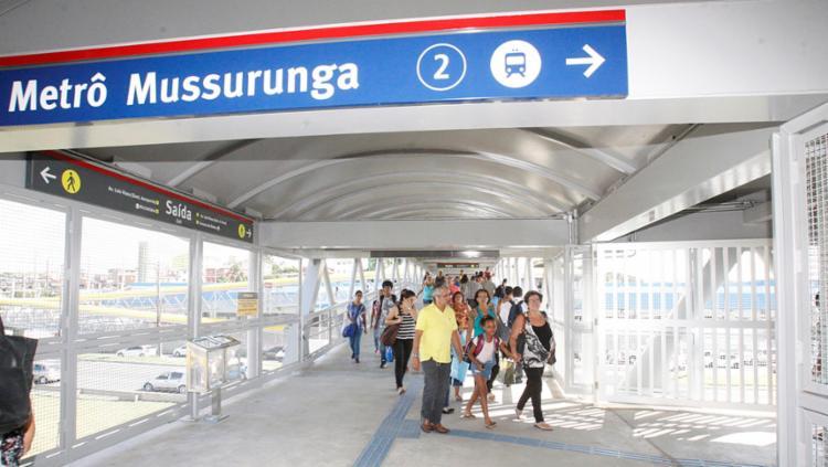 CCR Metrô informou que ampliará, de acordo com a demanda, a quantidade dos trens na operação - Foto: Luciano da Matta | Ag. A TARDE