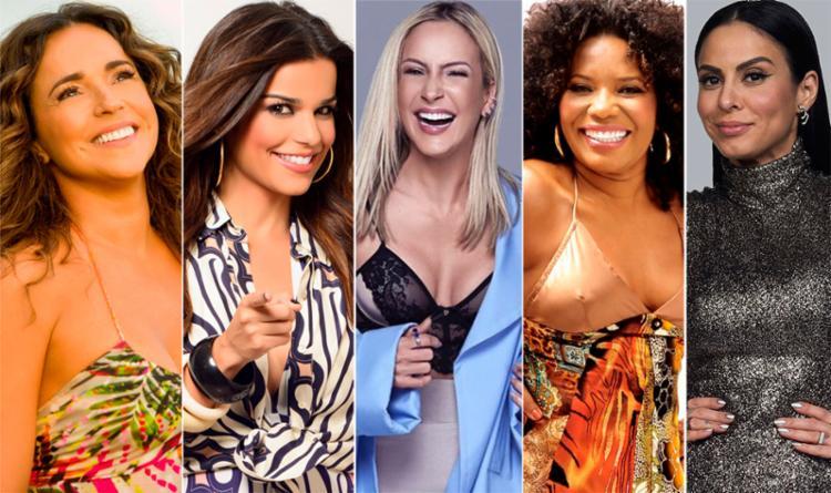 Daniela Mercury, Babado Novo, Claudia Leitte, Margareth Menezes e Alinne Rosa são atrações da micareta - Foto: Divulgação