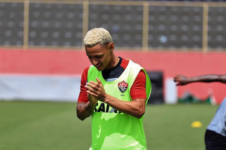Rubro-Negro conta com retorno dos gols de Neilton - Foto: Maurícia da Matta l EC Vitória